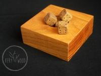 kości do gry - very wood