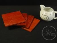 podstawki pod herbatę - very wood