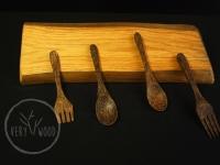 uchwyt na przybory kuchenne z magnesami1 - very wood
