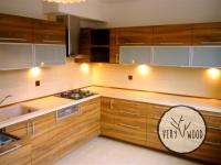 kuchnia z płyty laminowanej - very wood