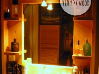 lustro łazienkowe-very wood