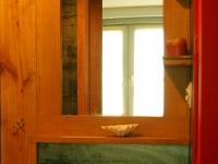 lustro z półką2-very wood