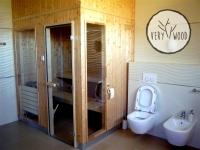 sauna - very wood