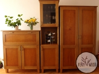 dębowa szafa komoda barek1 - very wood