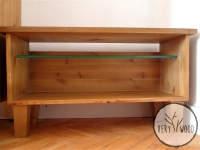 drewniana szafka Tv4 - very wood