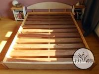 bielone łóżko z drewna litego2 - very wood