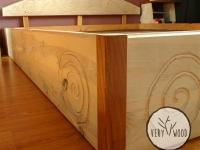bielone łóżko z drewna litego3 - very wood