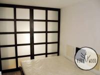 garderoba z drewnianym łóżkiem2 - very wood