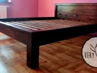 garderoba z drewnianym łóżkiem7 - very wood