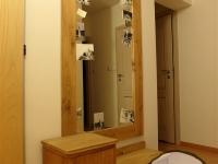 dębowa szafka z lustrem do przedpokoju-very wood