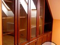 gabinet z garderobą i biblioteczką2-very wood