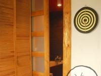 Przesuwne drzwi łazienkowe1-very wood